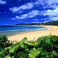 Kauai beach in Hawaii